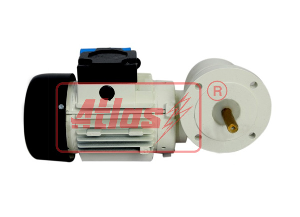 Single Phase Flange Mounted Worm Gear Motor